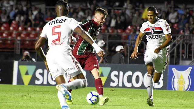 Fluminense x São Paulo 07/11/2019