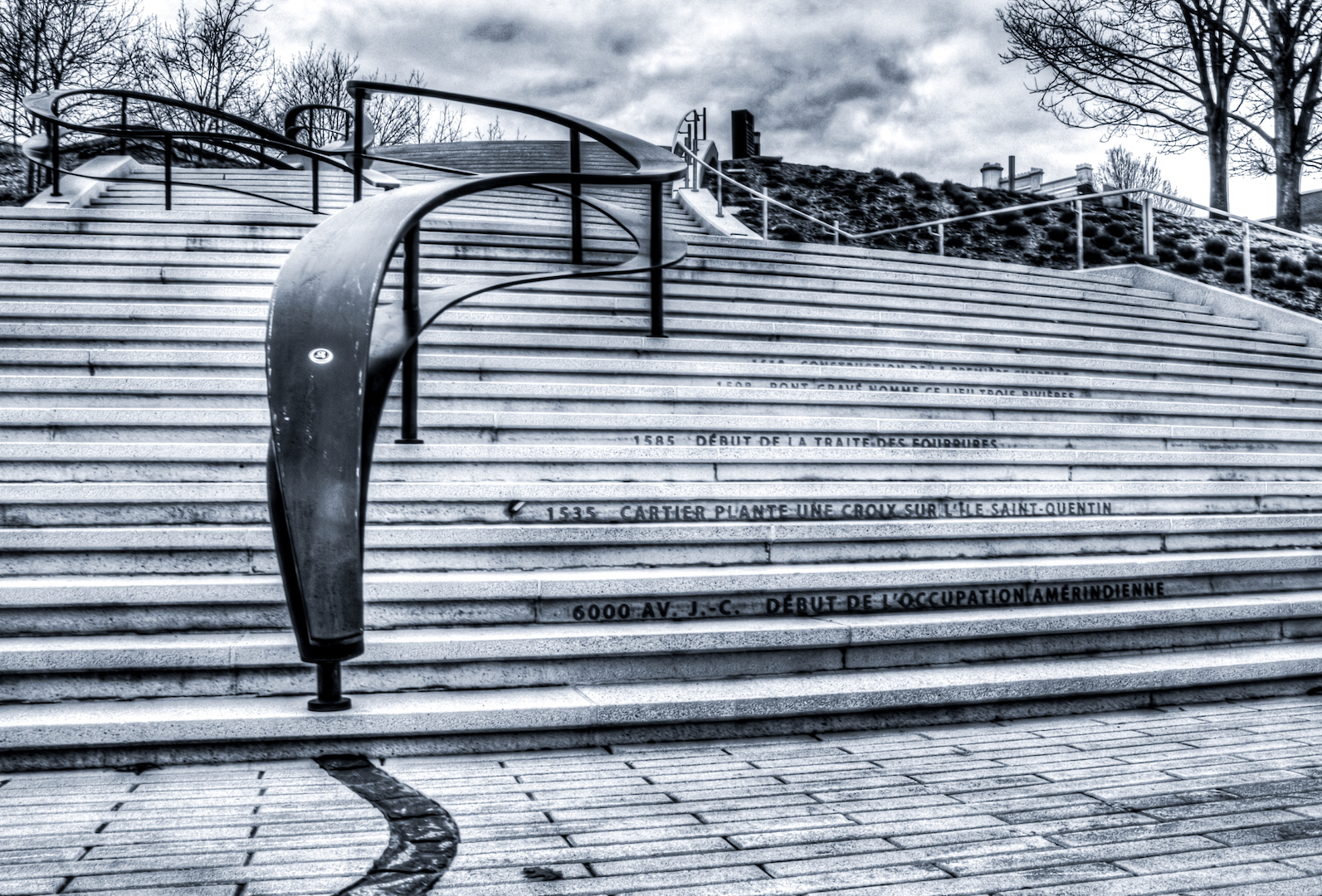 Escalier du temps