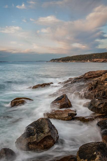 Morning at Otter Cliffs