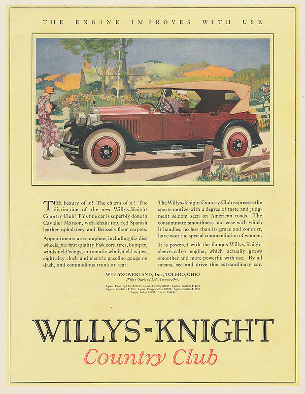 1923 Willy's-Knight Country Club