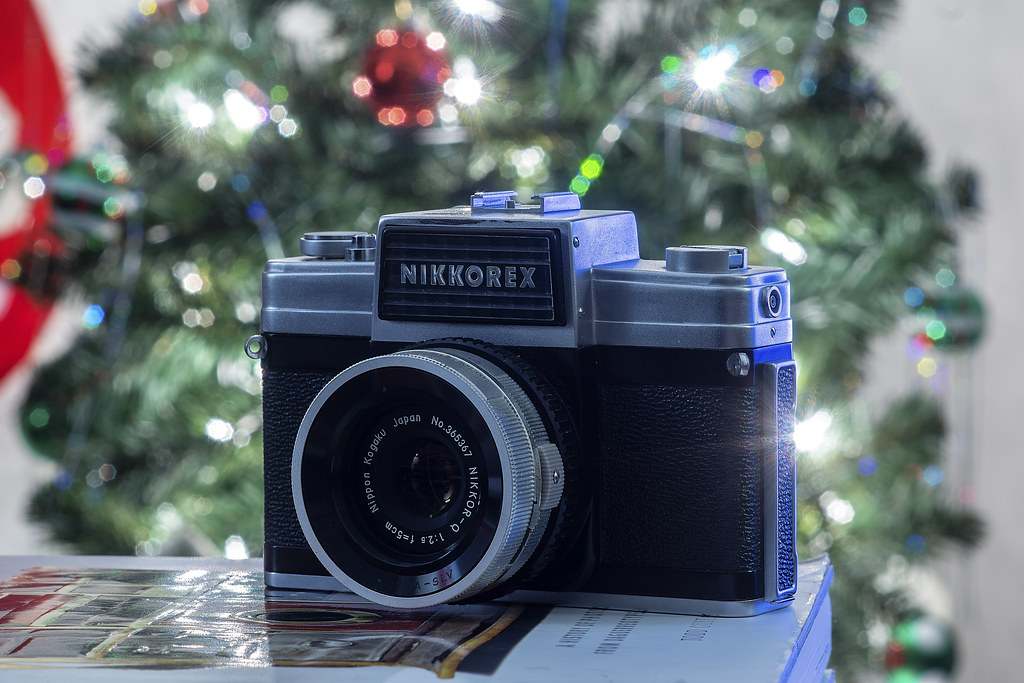 Camera Review Blog No. 118 - Nikon Nikkorex 35|2