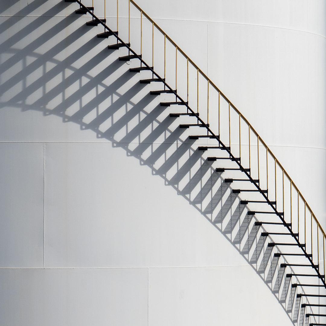 Soleil, dessine-moi un escalier