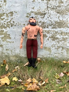 Tattooed Man doll