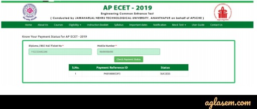 AP ECET Application Form 2020