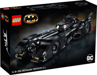 長達 60 公分,搭載滑蓋駕駛艙! LEGO 76139 DC Super Heroes 系列《蝙蝠俠(1989)》1989 蝙蝠車 1989 Batmobile
