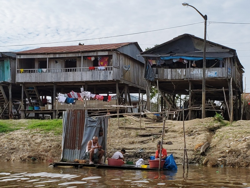 Belen floating houses