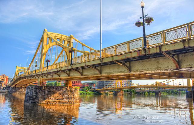 Sixth Street (aka Roberto Clemente) Bridge - Pittsburgh, Pennsylvania