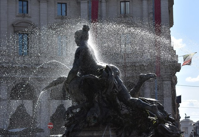 Fountain w/nymph