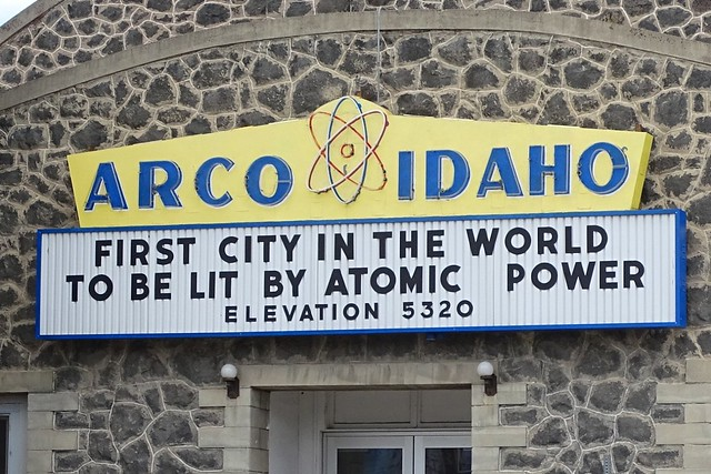 ID, Arco-U.S. 26 Arco Idaho Neon Sign