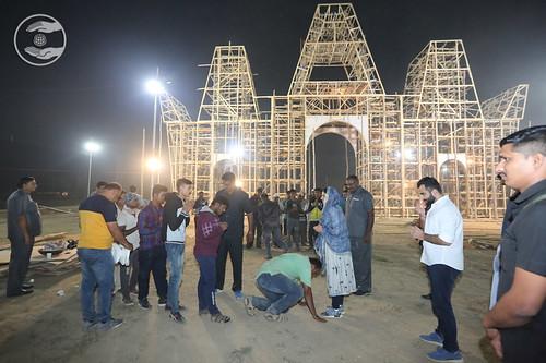 Namaskar at Samagam Gate