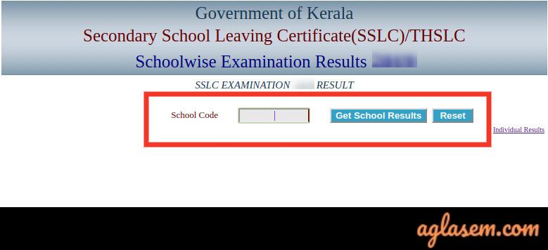 Kerala THSLC Result 2020
