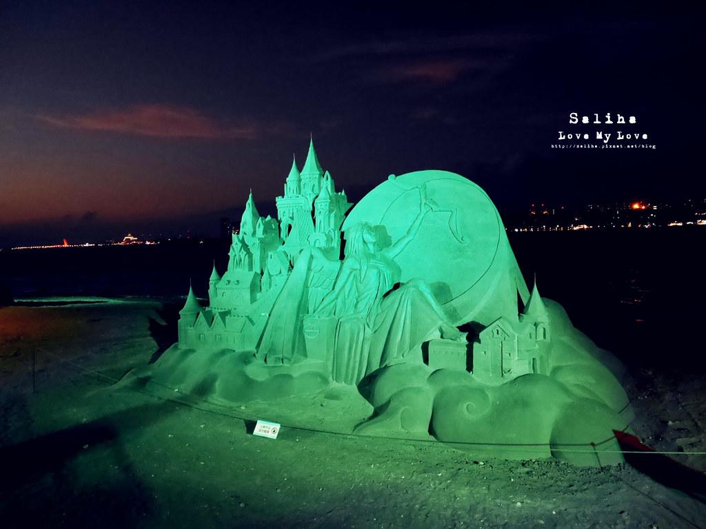 八里左岸浪漫一日遊景點推薦光雕夜間沙雕展期 (4)