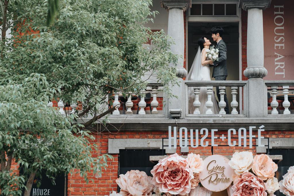 [ 婚攝 ] Gino & Renee 婚禮紀錄@ House+Cafe SINCE 1910 婚禮攝影