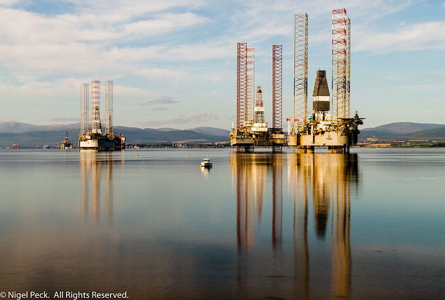 Oil Rigs @ Cromarty Firth
