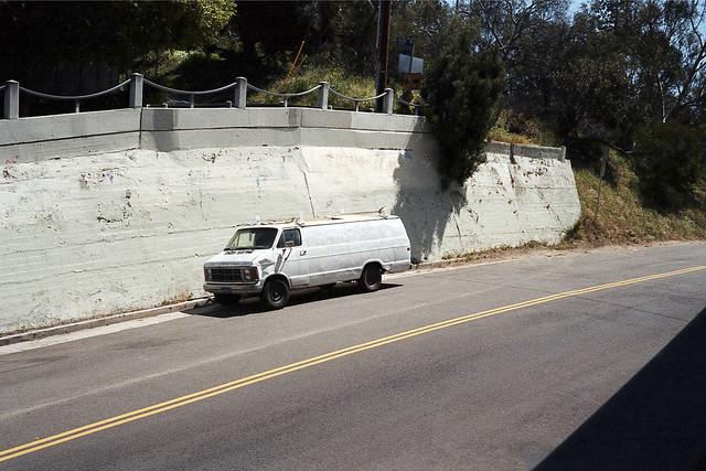 White wall van