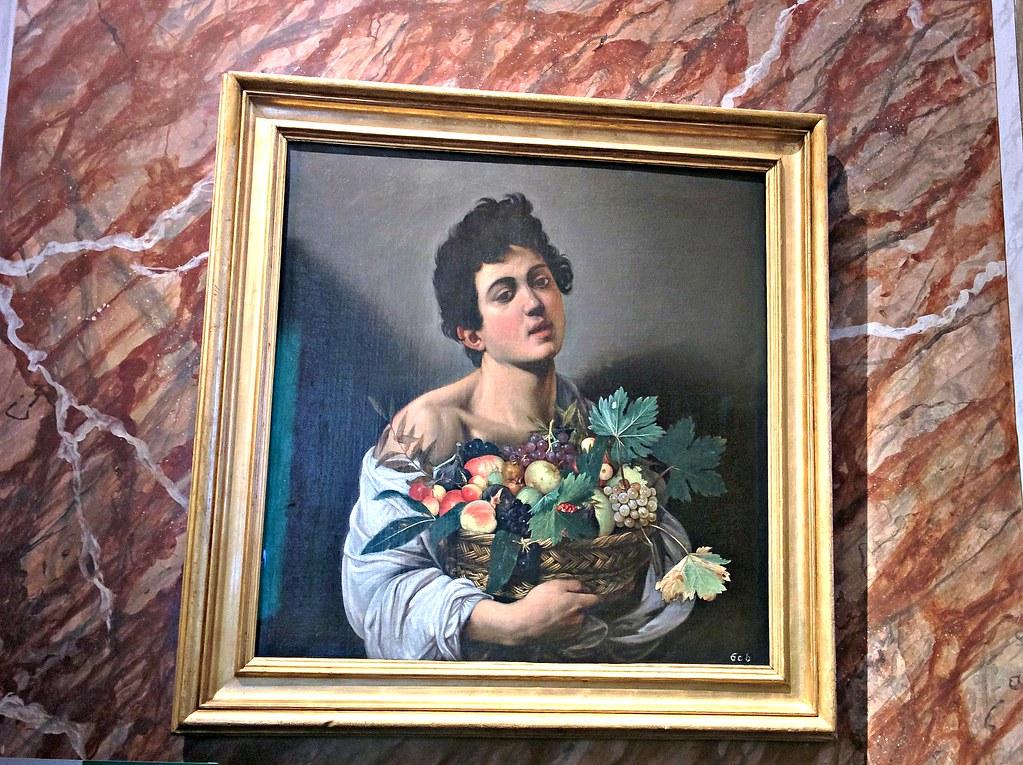 Poika ja hedelmäkori (Galleria Borghese)