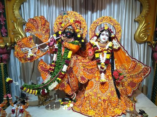 ISKCON Amravati Deity Darshan 08 Nov 2019
