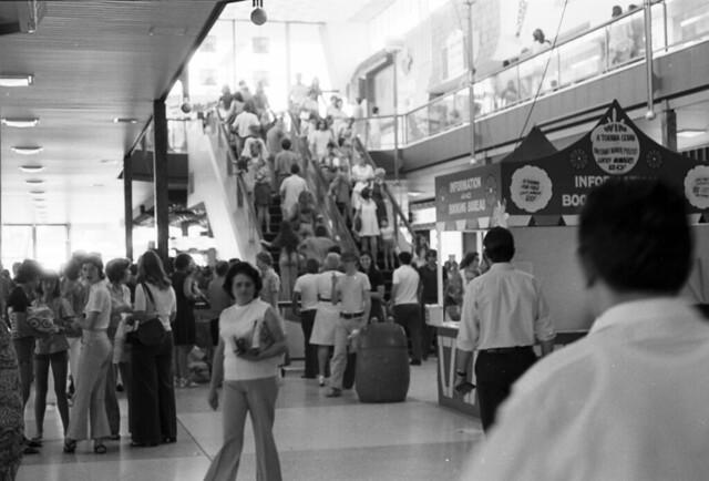 Indooroopilly Shoppingtown, Brisbane, c 1976