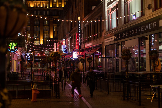Cleveland Streets at Night #2