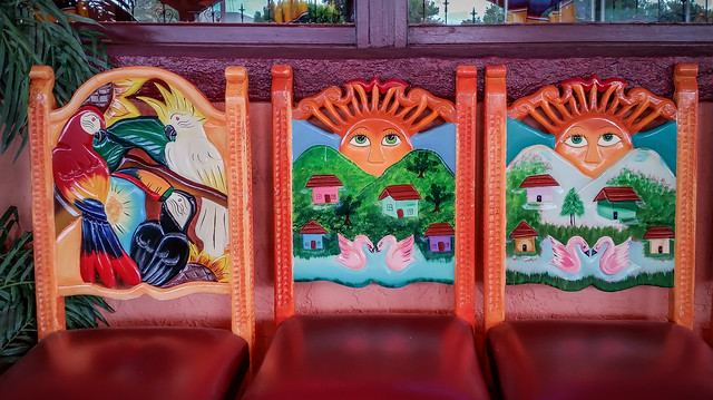 Chairs at Fiesta Mexicana