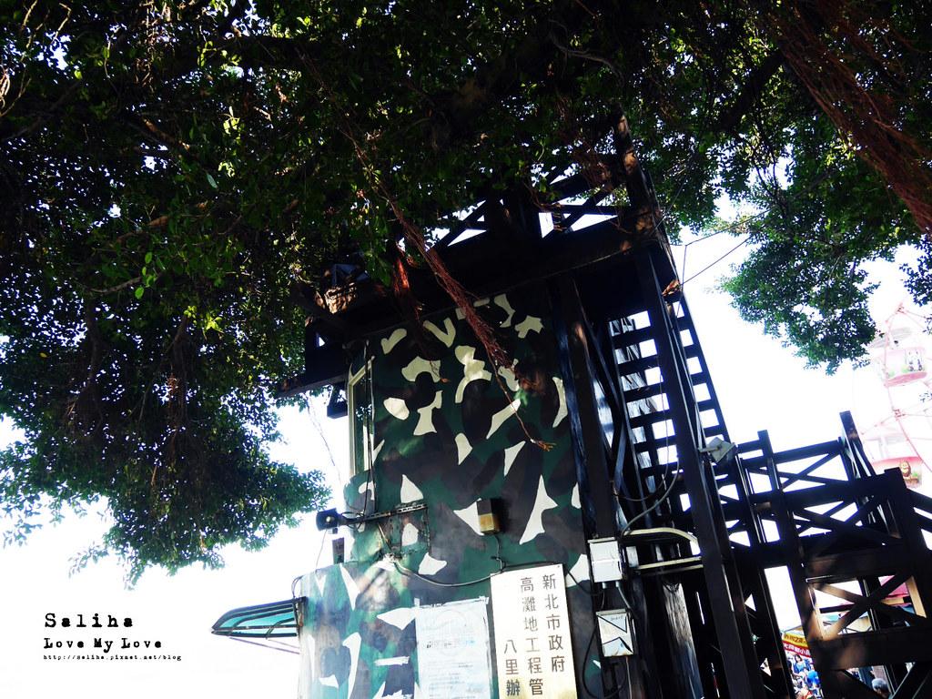 新北八里景點推薦一日遊老榕碉堡