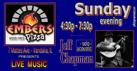 Jeff Chapman Sunday