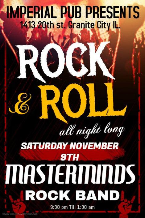 Masterminds Rock Band 11-9-19