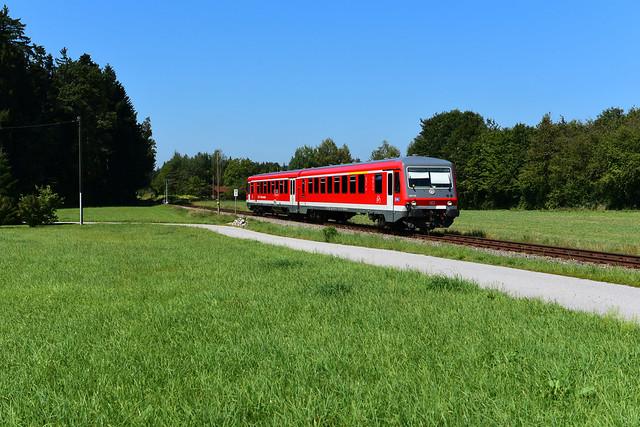 628 519-7 / 928 519-7 DB Regio Westfrankenbahn I RB 27349 I Brandstätt (9282)