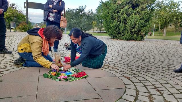 Octubre 2019 | Visita de Juana Lúc Méndez (CONAVIGUA) a Navarra