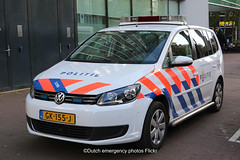 Dutch police Volkswagen Touran