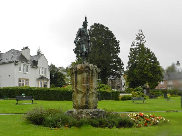 Donald Cameron of Lochiel (1855 - 1905), Fort William, Oct 2019