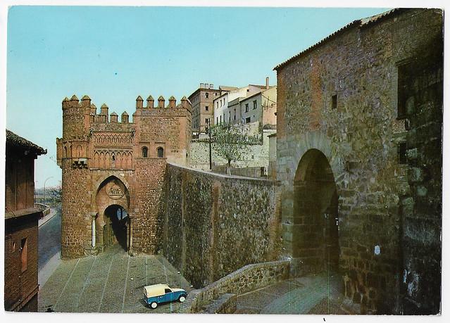 Toledo : Puerta del Sol.