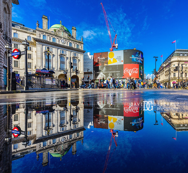 Reflect - Piccadilly Circus, London, UK