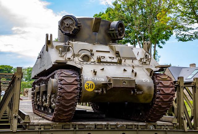 Sherman M32 Tank Recovery Vehicle