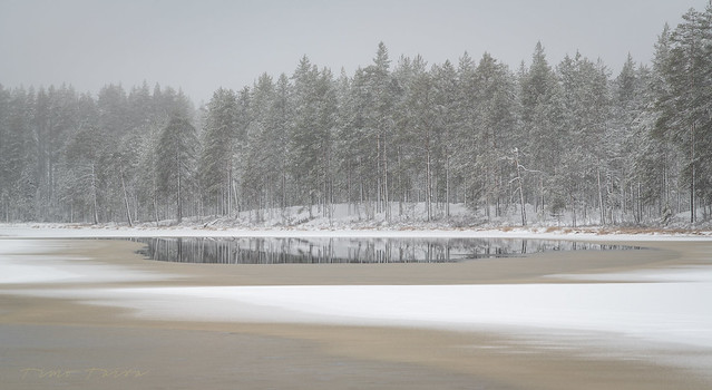 Hiidenportti National Park in the eastern part of Finland