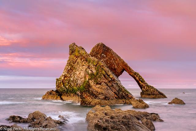 Bowfiddle Rocks, Portnockie