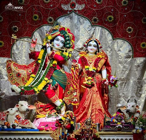 ISKCON Pune NVCC Deity Darshan 08 Nov 2019