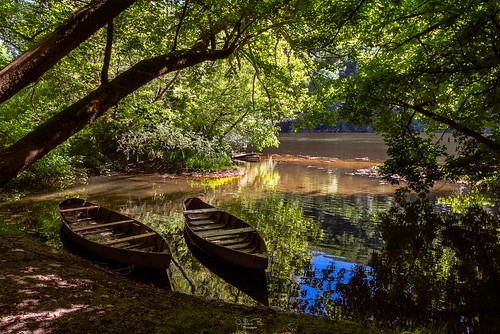 The banks of the Dordogne in the Perigord in France | by gilles-B
