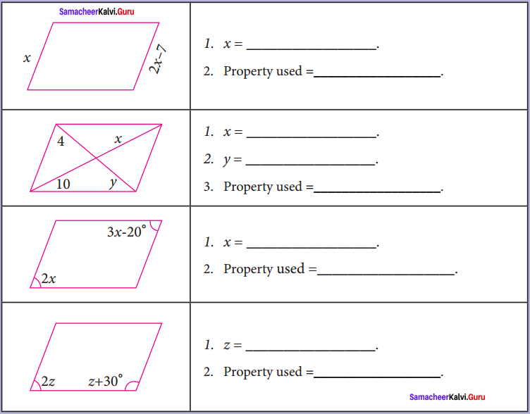 Samacheer Kalvi 8th Maths Solutions Term 2 Chapter 3 Geometry Intext Questions 5