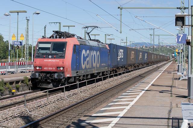 SBB Re 482 004 Weil am Rhein (D)