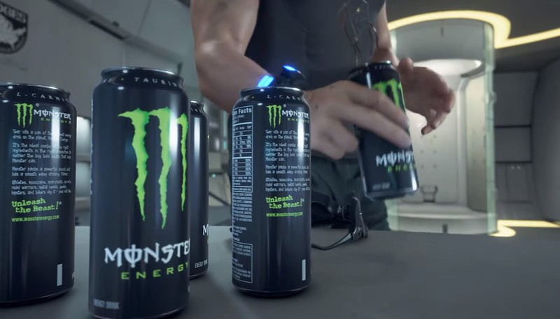Échec de la mort Monster Energy