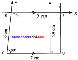 Samacheer Kalvi 8th Maths Solutions Term 2 Chapter 3 Geometry Ex 3.3 6