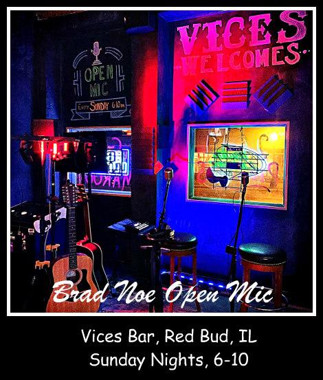 Brad Noe Open Mic Sundays