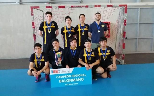 Handball cadetes del ISV se corona Bicampeón Regional IND