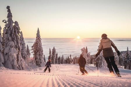 Horní Rakousko: kde děti objeví krásy lyžování