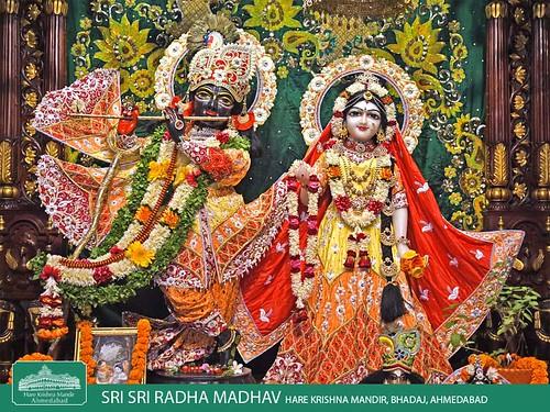 Hare Krishna Temple Ahmedabad Deity Darshan 08 Nov 2019