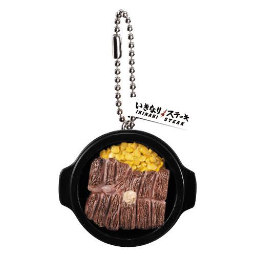 牛排控轉起來~GASHAPON 日本立食牛排 IKINARI!STEAK 迷你吉祥物轉蛋(いきなり!ステーキ いきなり!ミニチュアマスコット)全五款