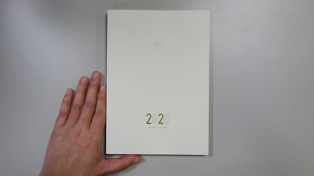 大小比例尺@Take a Note 2020手帳