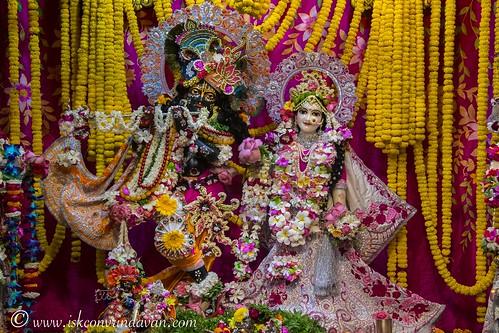 ISKCON Vrindavan Deity Darshan 08 Nov 2019