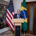 Recepção com o cônsul-geral dos EUA em SP, Adam Shub.